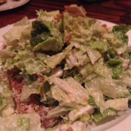 Caesar Salad at American Cut NYC via unbuttoningpants.com