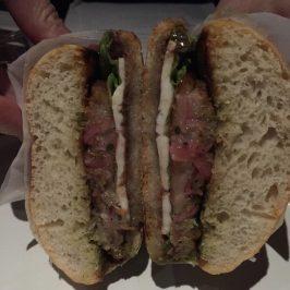 Pork Jowl torta at Cosme NYC via Unbuttoningpants.com