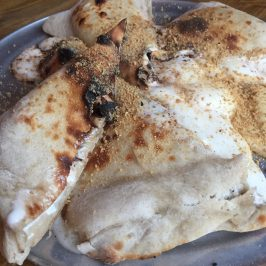 S'mores calzone