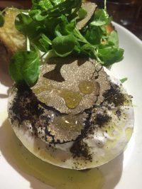 L'Amico, truffles and burrata