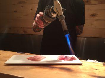 NY Sushi Ko is hot