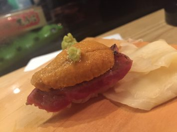 Seared Wagyu with Uni...