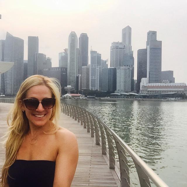Singapore Selfie - Daryl of Unbuttoning Pants in Singapore