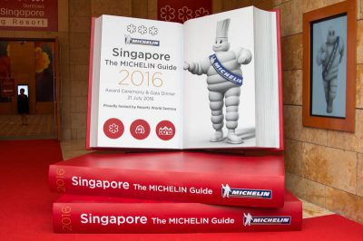 Singapore's First Michelin Guide