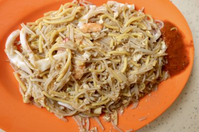 Hong Heng Fried Sotong Prawn Mee